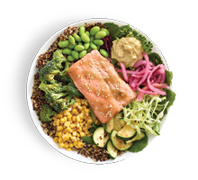 Asian Sesame Salmon Grain Bowl